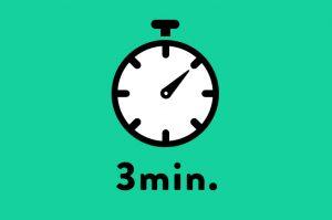 「話が分かりにくい」といわれたことはありませんか?3分間スピーチの意義を理解し、効果的な実施を!
